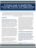 Value and Coverage issue brief